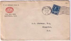 George V Admiral Letter 9